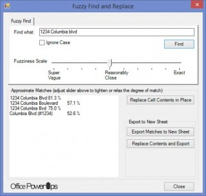 fuzzy search and replace fuzzy find and replace