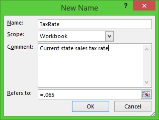how to keep a constant in excel
