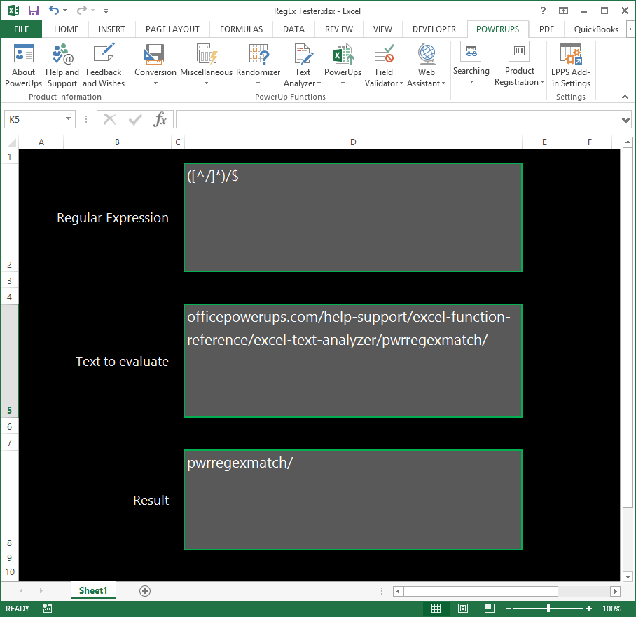 Regular Expressions In Excel